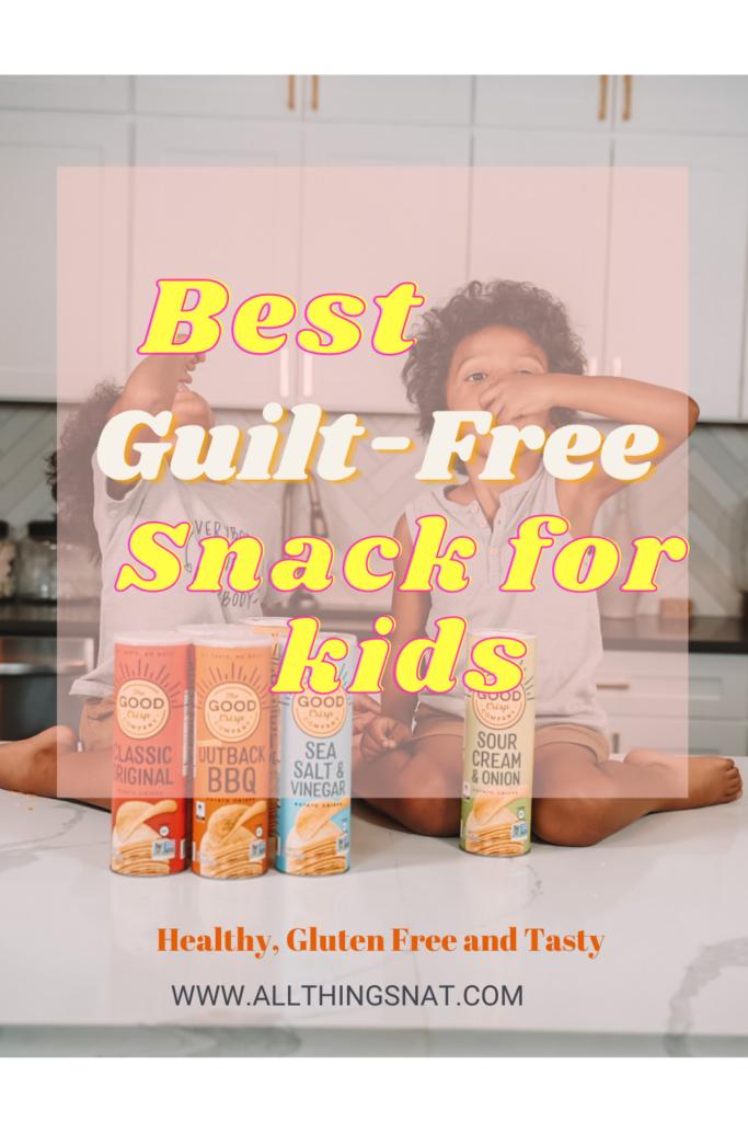 Best Guilt free snack The Good crisp company